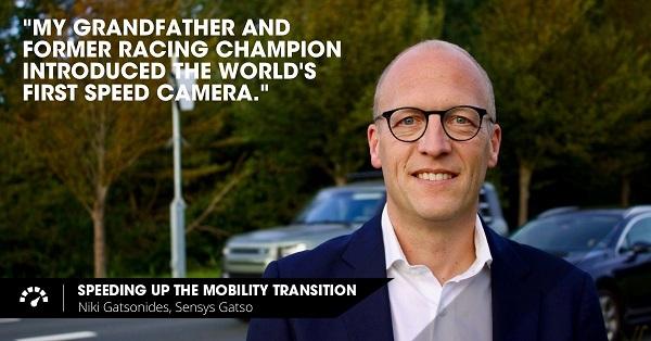 Speeding up the mobility transition: Niki Gatsonides, Sensys Gatso