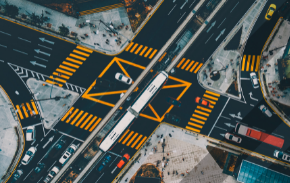 Three smart cities in traffic management